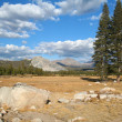 Tuolumne Meadows at the Yosemite National Park — Stock Photo