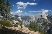 глейшер-пойнт в национальном парке йосемити — Стоковое фото