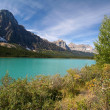 Stock Photo: Waterfowl Lakes at Banff National Park