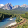 Bow Valley — Stock Photo