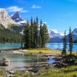 Spirit Island on Maligne Lake — Stock Photo #16823669
