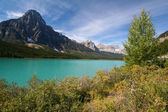 Waterfowl Lakes at the Banff National Park — Stock Photo