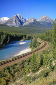 Bow river — Stock Photo
