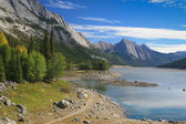 Medicine Lake at the Jasper National Park — Stock Photo