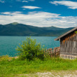 Cottage at Lake Walchensee — Stock Photo #17158315