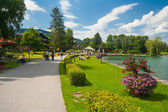 Park near the village Bad Wiessee — Stock Photo