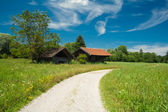 Path around the lake Staffelsee — Stock Photo