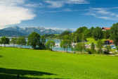 Lake Forggensee — Stock Photo
