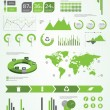Ecology info graphics collection — Stock Vector #41677079