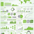 Ecology info graphics collection — Stock Vector #41677081