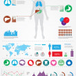 Stock Vector: Medical infographics.