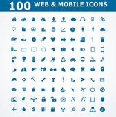 Web and Mobile Icons — Stock Vector