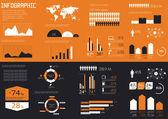 Detail infographics set. — Stock Vector