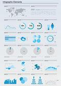 Ayrıntı infographic illüstrasyon. — Stok Vektör