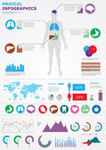 Medical infographics. — Stock Vector
