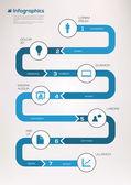 Infographic elementen. — Stockvector