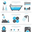 Save Water infographics. — Stock Vector #41740011