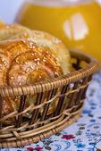 Scones for breakfast — Stock Photo