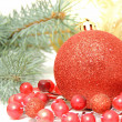 Christmas decoration wallpaper - Lizenzfreies Foto