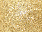 Yellow glitter — Stock Photo