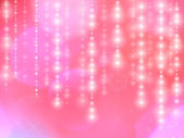Star lights on pink background — Stock Photo