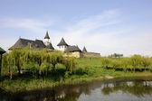Monastery in spring — Stock Photo
