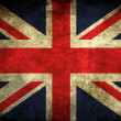 Vintage uk flag — Stock Photo