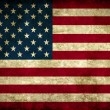 Stock Photo: Vintage usflag