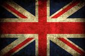Vintage bandeira do reino unido — Foto Stock