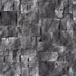 Black stone wall — Stock Photo
