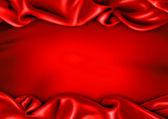 Elegant red frame — Stock Photo