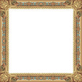 Ancient frame — Stock Photo