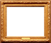 Old wood frame — Stock Photo