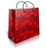 Hearts väska — Stockvektor