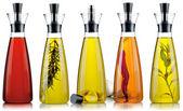 Bottles of oil — Stock Photo