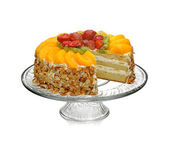 Fruits cake — Stock Photo