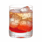 Red cocktail drink — Stock Photo