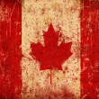 Stock Photo: Grunge Canadflag