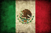 Grudge Mexico flag — Stock Photo