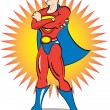 Stock Vector: Superhero Clip Art