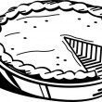 Pumpkin Pie — Stock Vector
