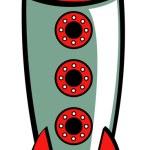 Rakete — Stockvektor