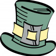 Stock Vector: Leprechaun hat