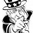 Uncle Sam — Stock Vector #17683323
