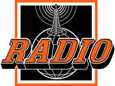 Radio clip art — Stock Vector