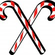 Candy cane clip art — Stock Vector #17827407