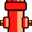 Stock Vector: Fire hydrant clip art