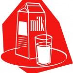 Glass of milk by a milk carton — Stock Vector #17827805