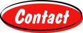 Red Internet Website Button — Stock Vector