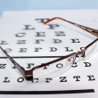 Eye chart - Stockfoto